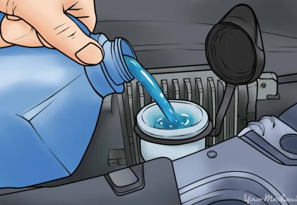 How To Fill Windshield Wiper Fluid #Adulting