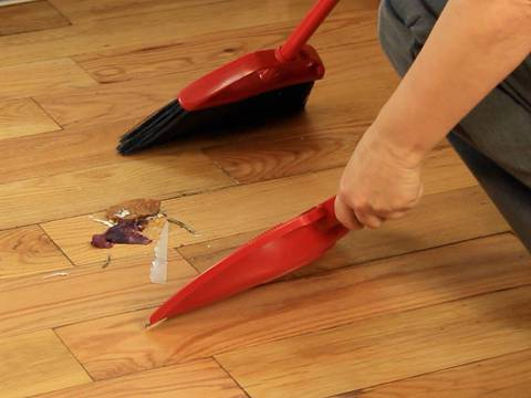 How To Sweep A Kitchen Floor
