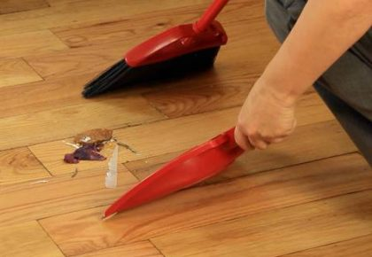 How to Sweep the Floor #Adulting